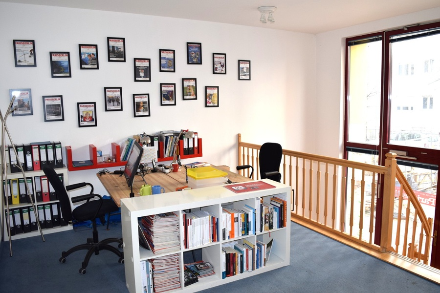 Nice Office (3-5 people) with Private Garden close to Rosenthaler Platz