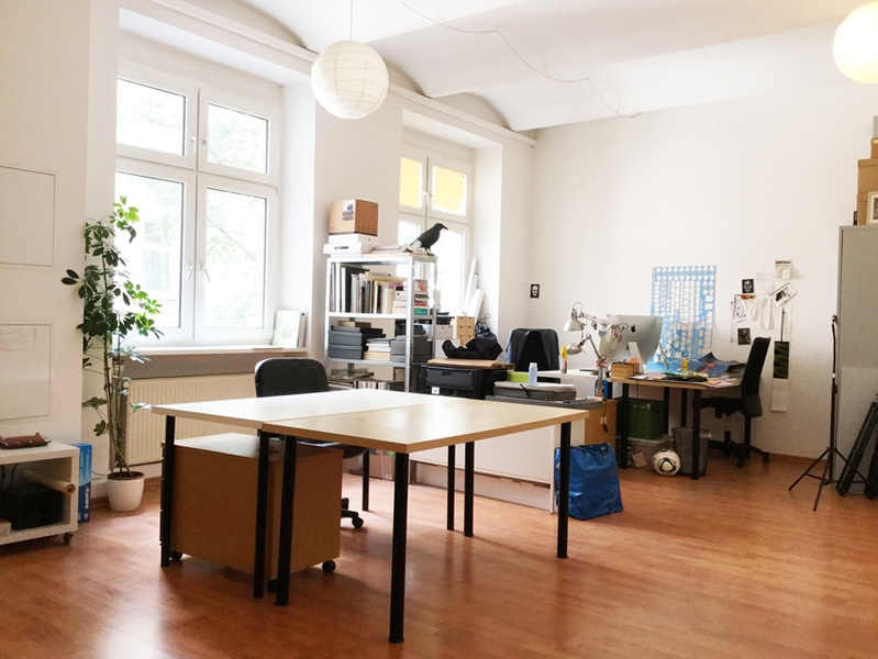 Maybachufer Berlin Office Desk