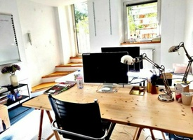 1 desk in a 100 m² office - Rosenthaler Platz