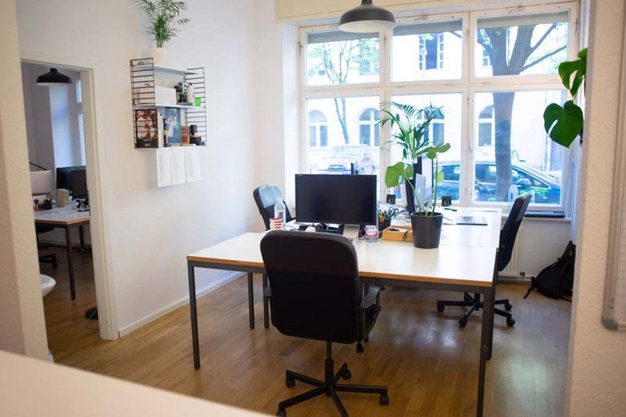 4 Arbeitsplätze in Bürogemeinschaft / Co-Working / Shared Office